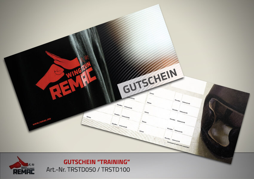 REMAC Gutschein Training