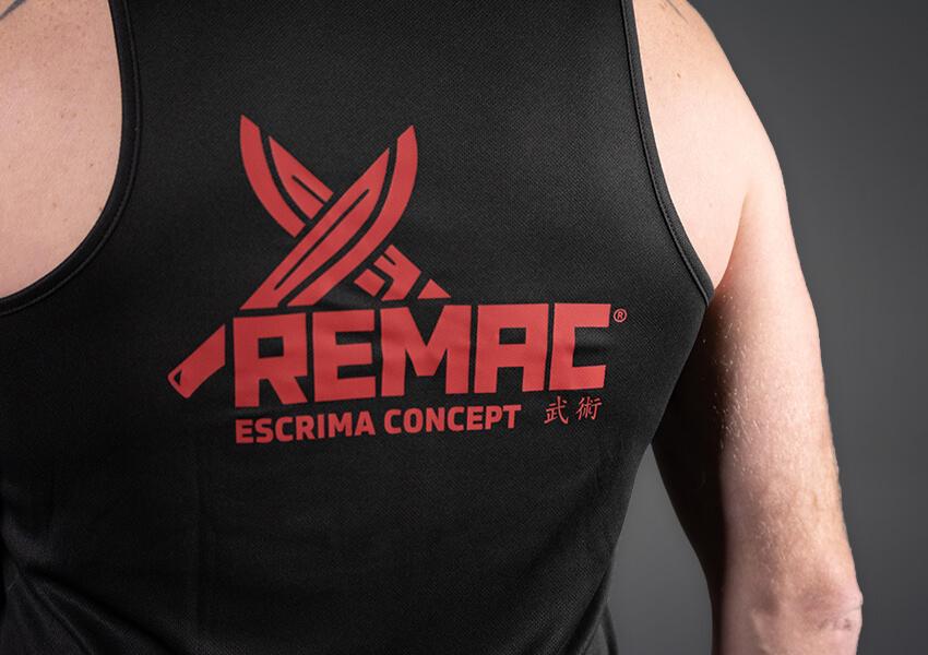 REMAC Tanktop Escrima Techniker 1-4